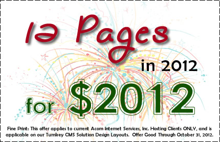 12 for 2012 in 2012
