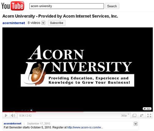 Acorn University
