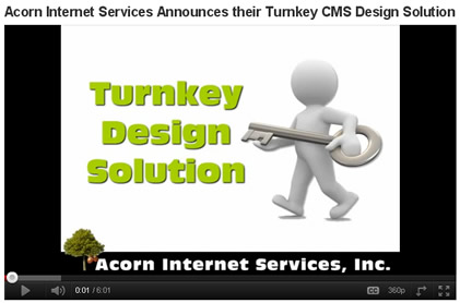 Acorn IS Announces their Turnkey CMS Design Solution