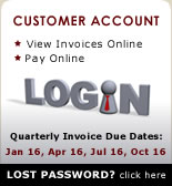 Login to Acorn IS billing system