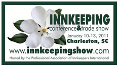 Innkeeping Show  Conference Charleston, SC