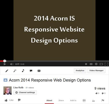 2014 Responsive Web Design