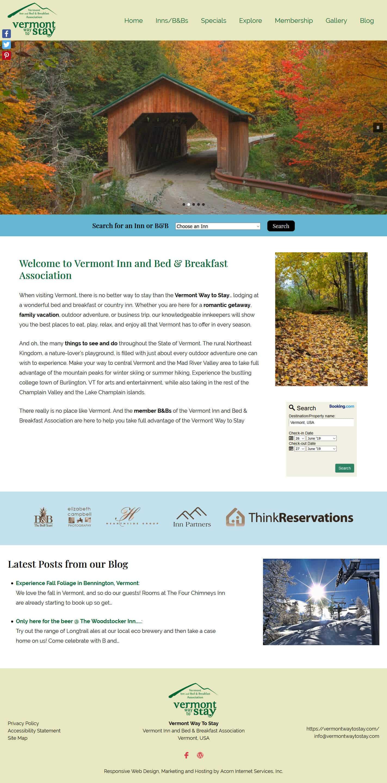 Vermont Inn and Bed & Breakfast Association