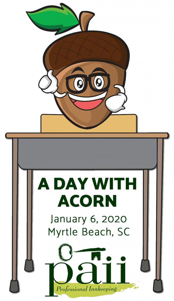 Acorn Nut at Desk
