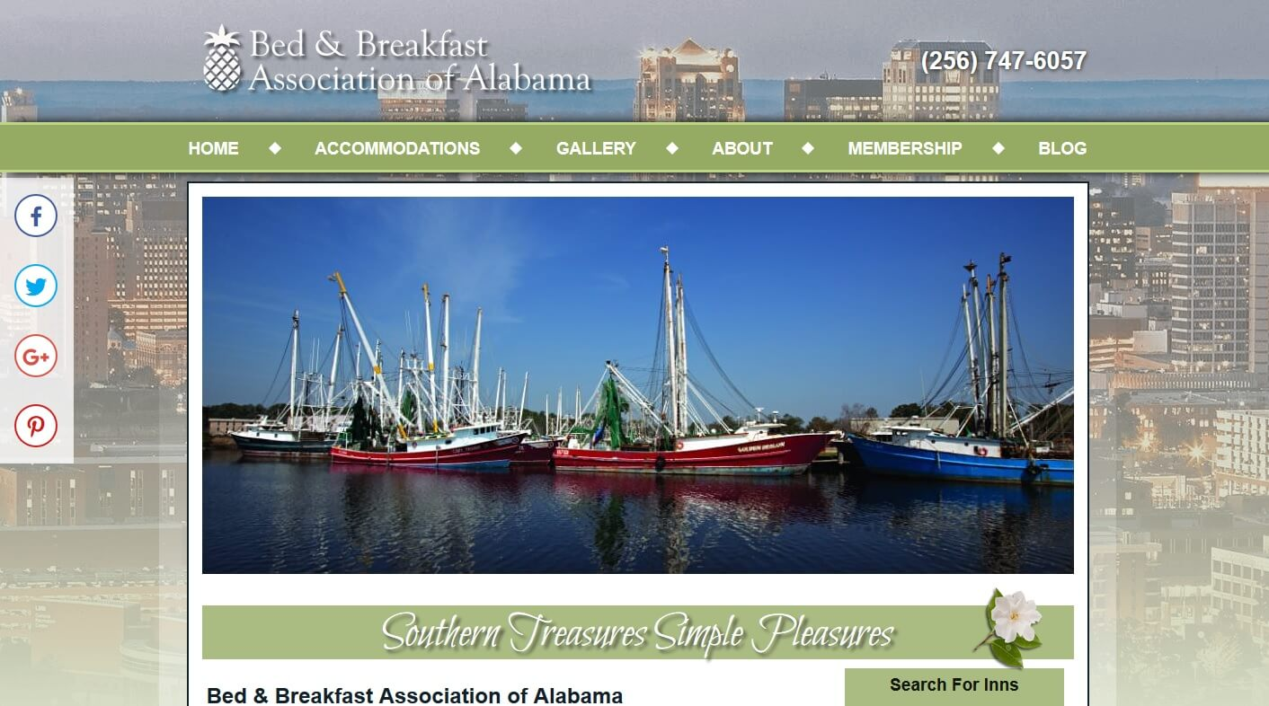 Alabama Bed and Breakfast Assoc