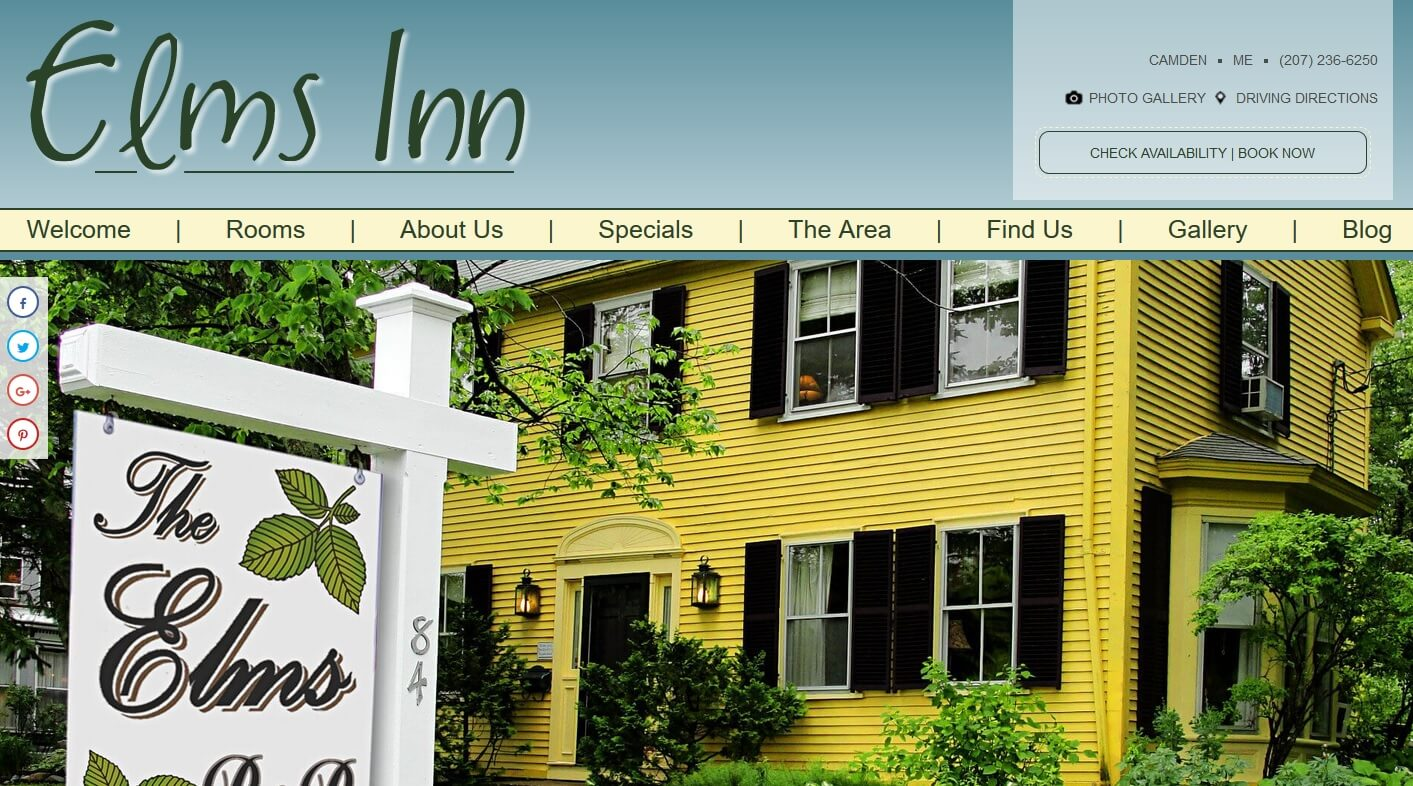 Elms Inn Bed and Breakfast
