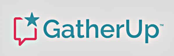 Logo of GatherUp review and reputaton management company