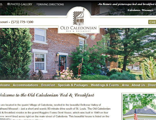 Old Caledonian Bed & Breakfast