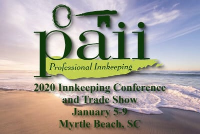 PAII 2020 Conference in Myrtle Beach, SC Logo