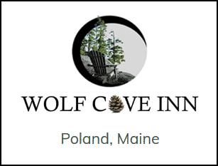 Wolf Cove Inn Logo with Pine Cone