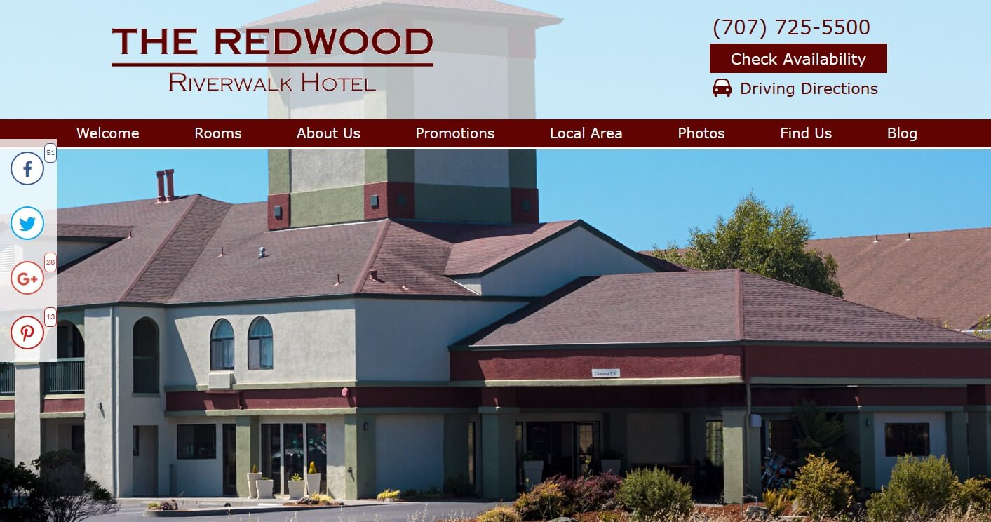 Redwood Riverwalk Hotel