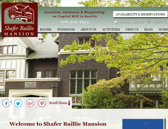 Shafer Baillie Mansion, Seattle, WA