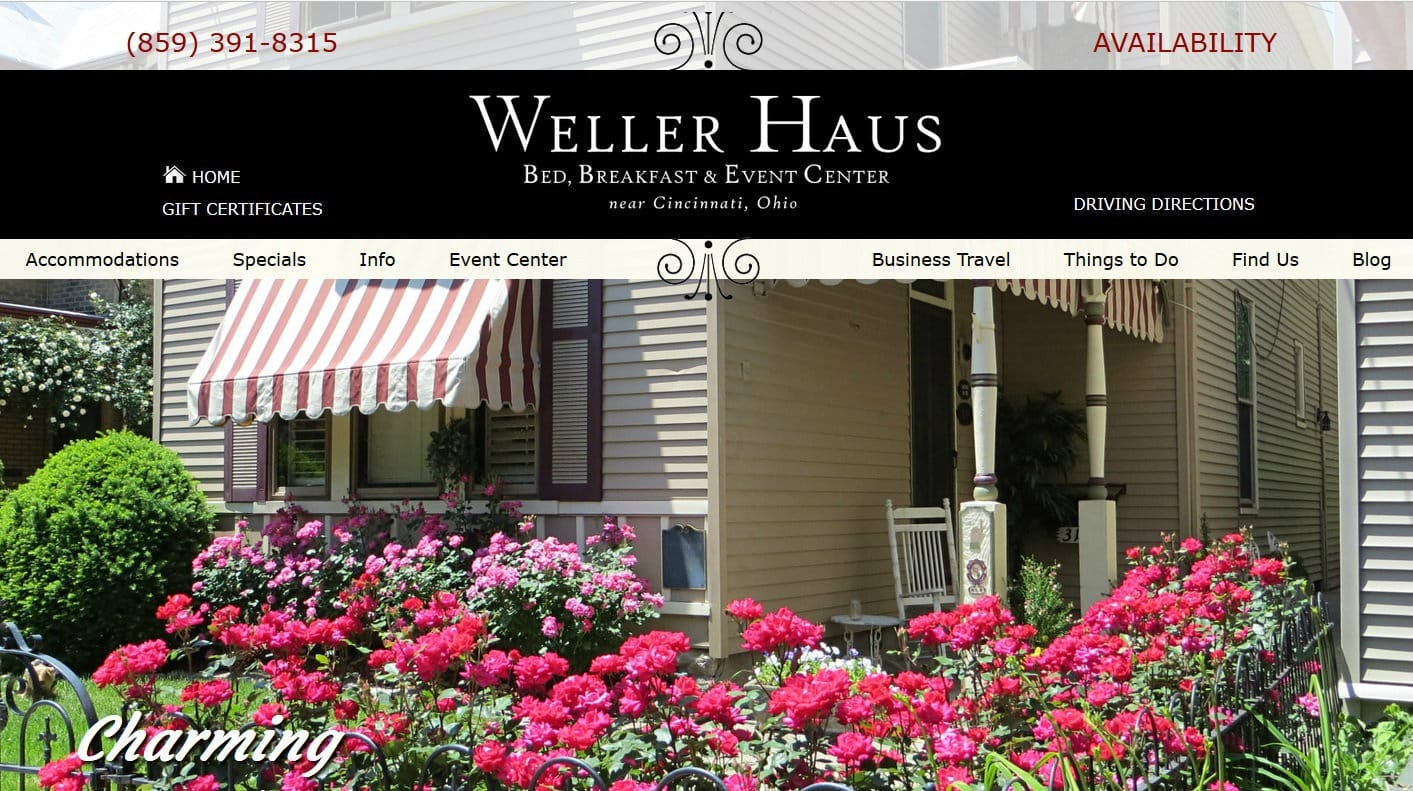 Weller Haus Bed, Breakfast & Event Center