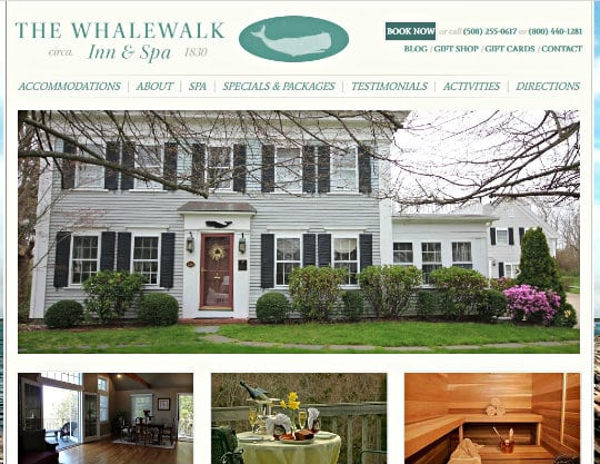 The Whalewalk Inn & Spa, Eastham, MA